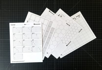 map and calendar sheets